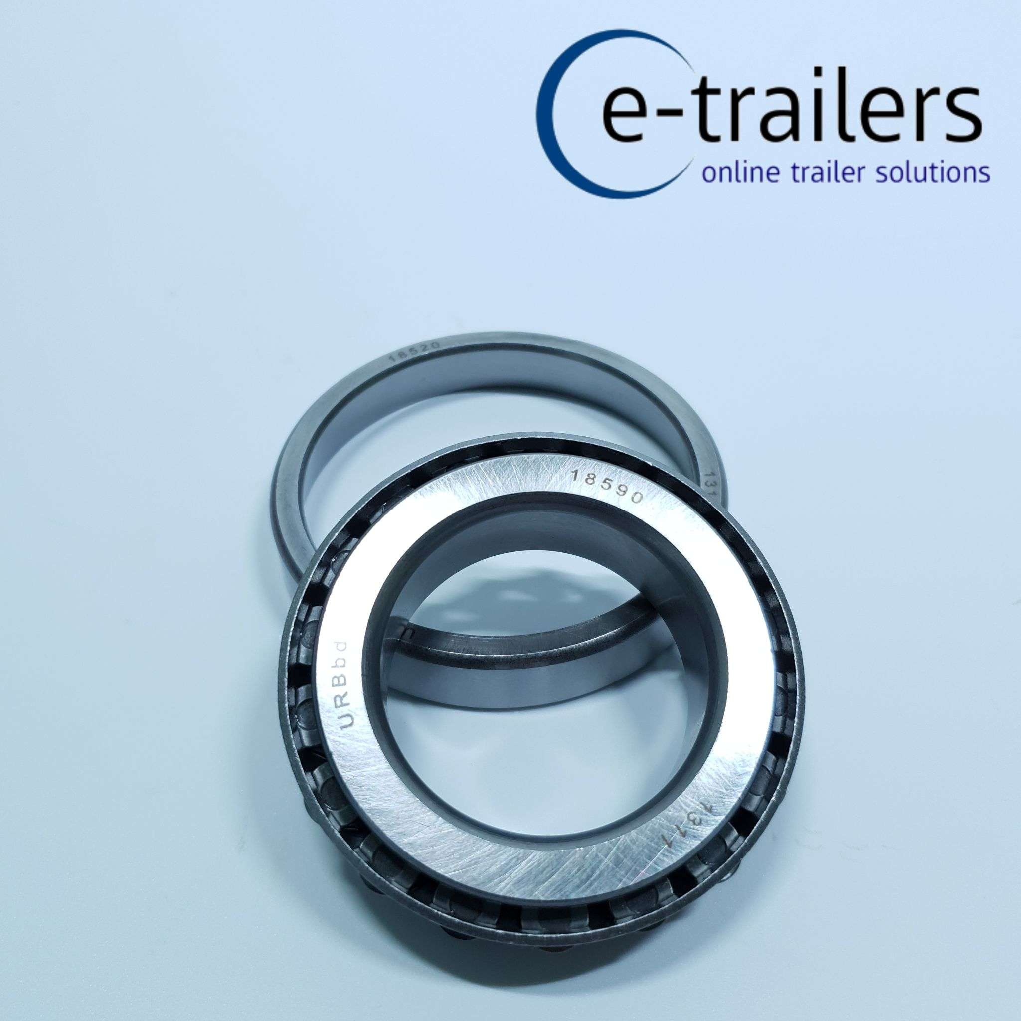 QUALITY TAPERED WHEEL BEARING  - TO FIT IFOR WILLIAMS P0001 P0002 - 18590 18520